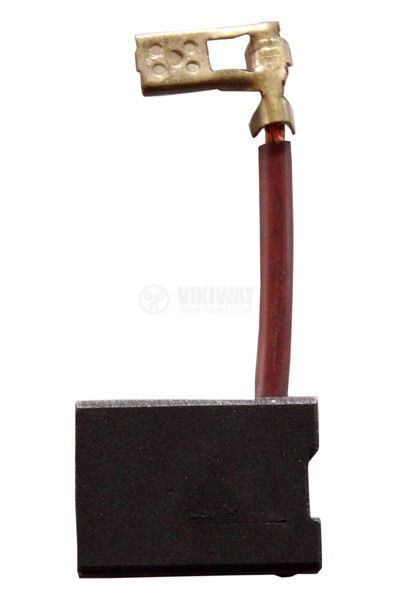 Четка въглено-графитна 6.3x16x22mm със страничен извод, кабелна обувка 4.8mm