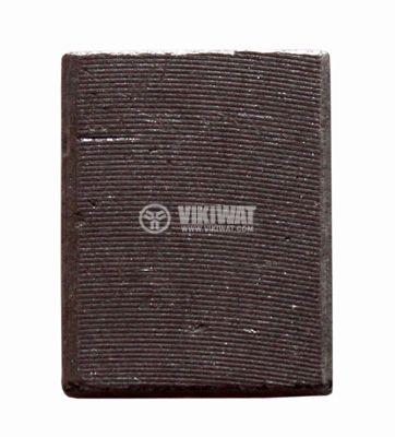 Четка въглено-графитна, M5, 10x20x25 mm, графитно тяло (блокове), без изводи