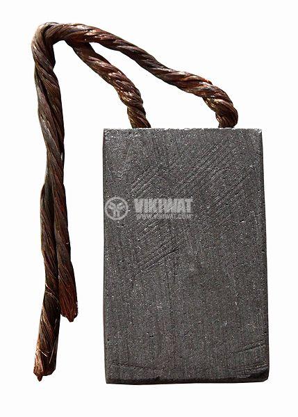 Четка въглено-графитна 10x32x50 mm с двоен страничен извод