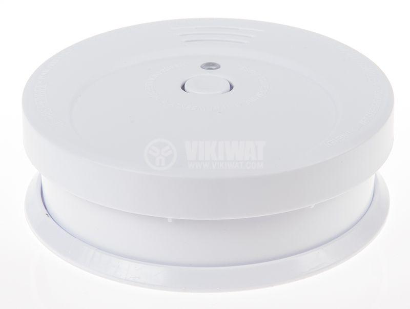 Smoke detector,  Brennenstuhl RM C 9010, with sound alarm, 85 dB, 1290080 - 4