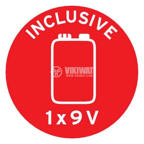 Детектор за дим, Brennenstuhl RM C 9010, със звукова сигнализация, 85dB, 1290080 - 8