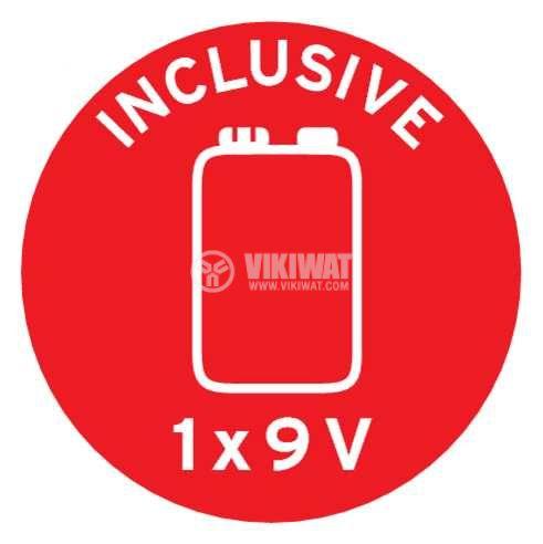 Smoke detector,  Brennenstuhl RM C 9010, with sound alarm, 85 dB, 1290080 - 8