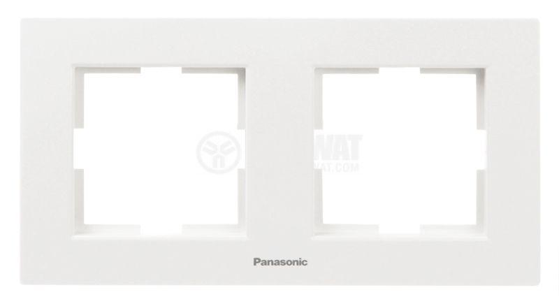 Рамка Panasonic двойна - 1