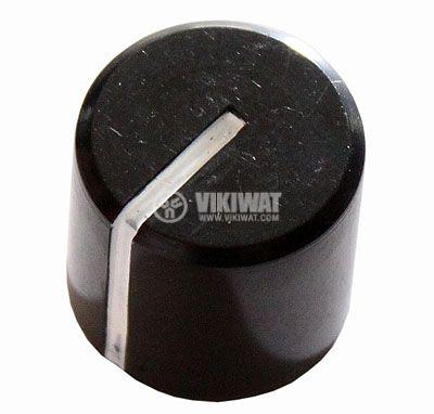 Копче за потенциометър Ф21х20 mm с индикатор