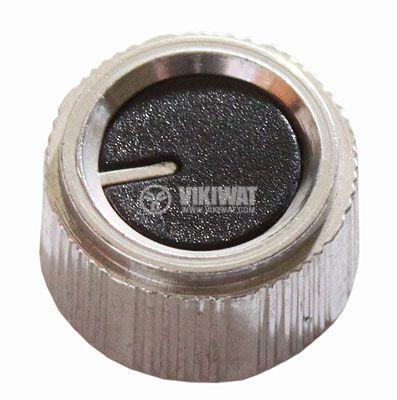 Копче за потенциометър Ф21х12 mm с индикатор