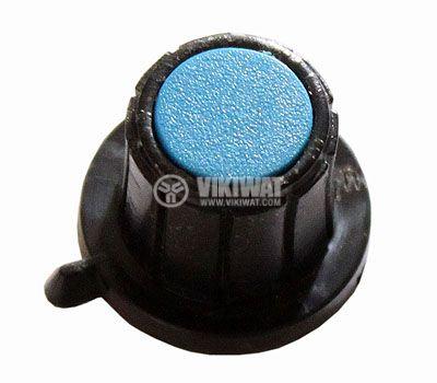 Копче за потенциометър Ф20х16 mm с фланец и репер