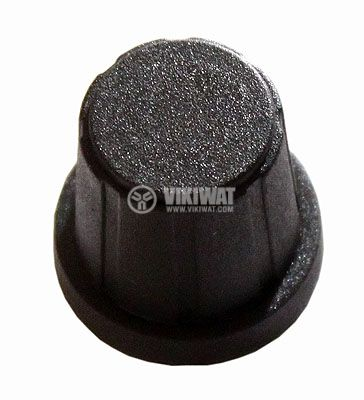 Копче за потенциометър Ф19х18 mm с фланец