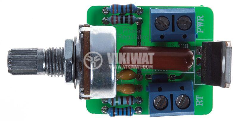 Регулатор на мощност, 12A, 230VAC - 3