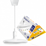 LED лампа UFO, 32W, E27, 2500lm, 6400K, студенобяла, BB01-03223, бял корпус