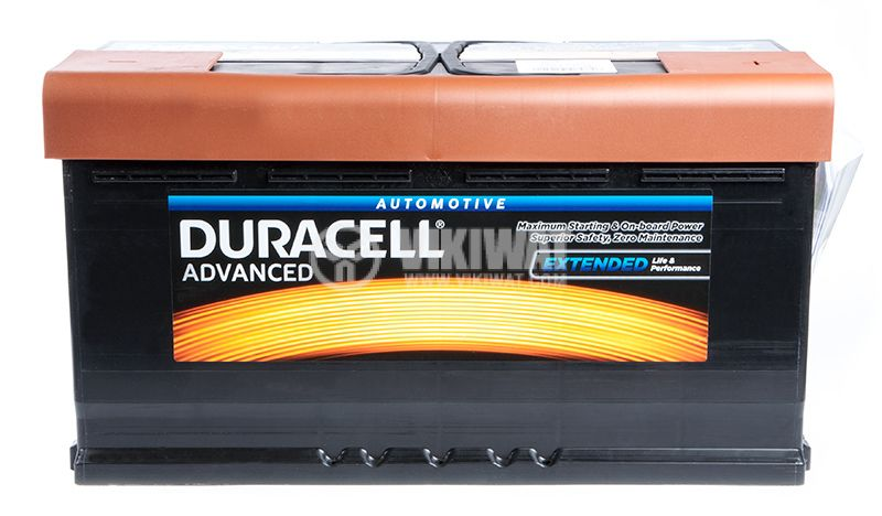 Car battery, 95Ah, starter, 12VDC, DURACELL DA 95H - 2