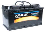 Car battery, 95Ah, starter, 12VDC, DURACELL DA 95H