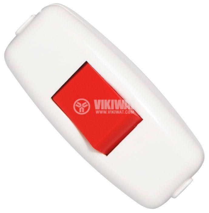 Inline Lamp Switch, 250VAC, 6A