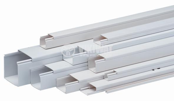 Кабелен канал 40x20x2000 mm, пластмаса LHD30x25 (HD)