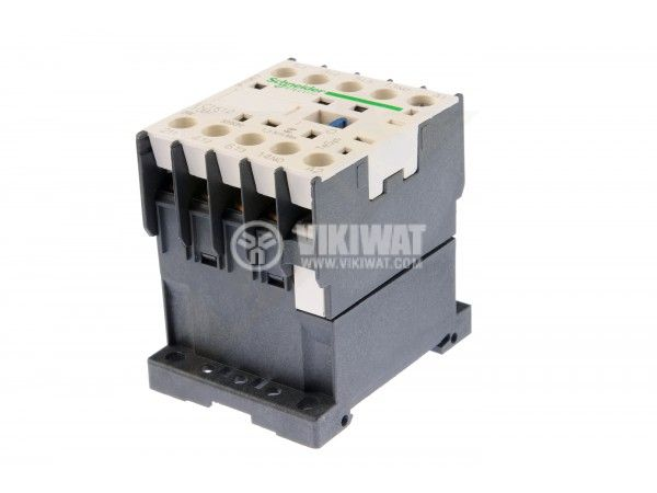 Contactor, three-phase, coil 24VAC, 3PST - 3NO, 12A, LC1K1210B7, NO