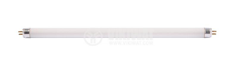Луминeсцентна тръба 8 W, T5, синя, 300 mm - 1