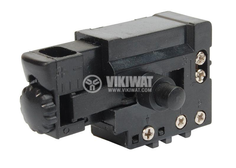 Електрически прекъсвач (ключ), регулатор на обороти за ръчни електроинструменти  FA4-4/1BE-8 5A/250VAC - 1