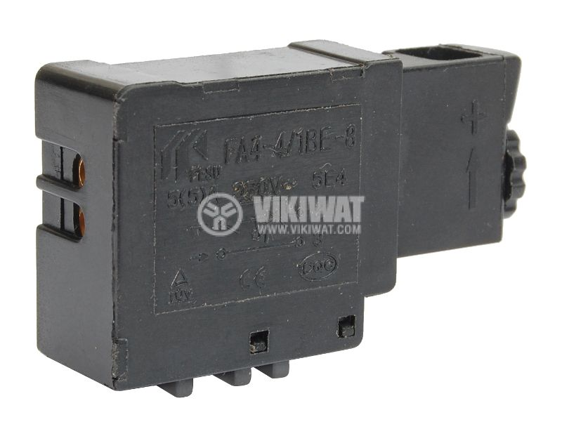 Електрически прекъсвач (ключ), регулатор на обороти за ръчни електроинструменти  FA4-4/1BE-8 5A/250VAC - 2