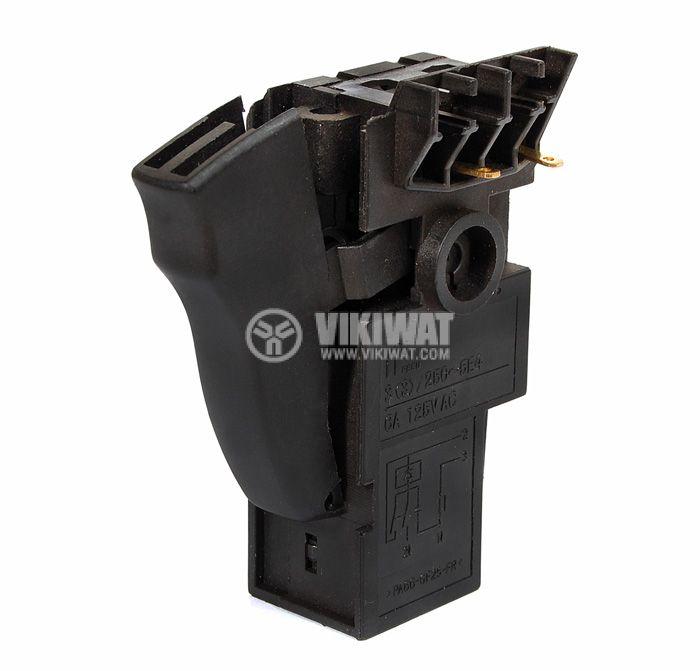 Power hand tools switch PA66-GF25-FR 8 A/250 VAC  - 1