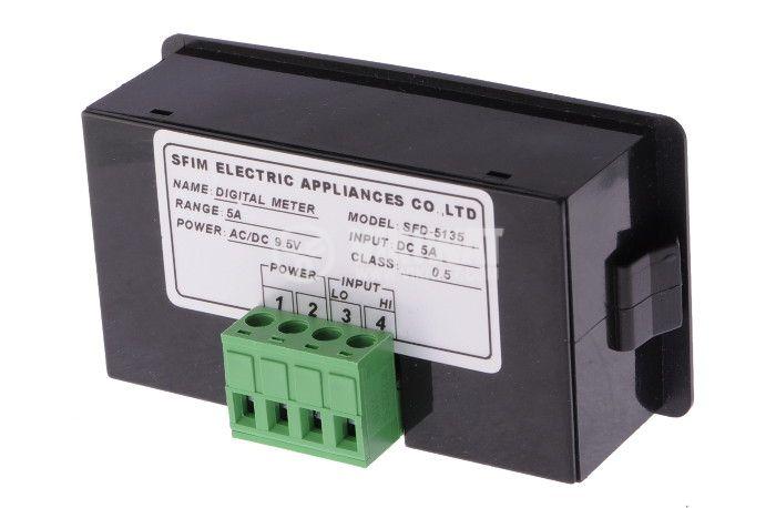 Digital ammeter, 0-5A DC, SFD-5135 - 2