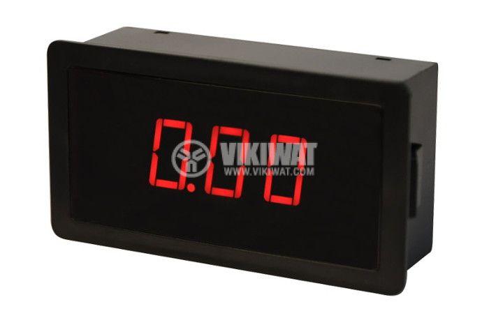 Digital ammeter LEDx3, 0-5A AC, SFD-5135 - 1