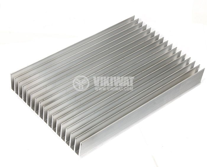 Aluminum cooling radiator profile 500mm 165x35x5 mm - 2