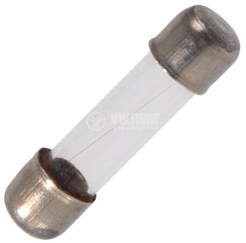 Предпазител стъклен 5х20 mm, 6.3 A, български
