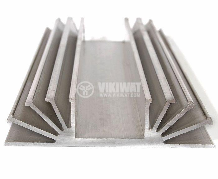 Алуминиев радиатор за охлаждане 0194 105x25mm, дължина 0.5m - 1