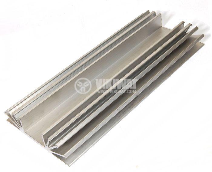 Алуминиев радиатор за охлаждане 0194 105x25mm, дължина 0.5m - 2