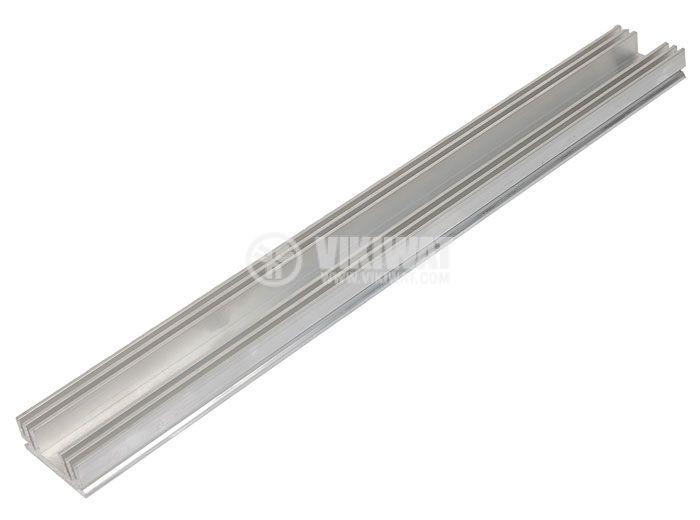 Алуминиев радиатор за охлаждане 250mm, 29x11.5mm - 2