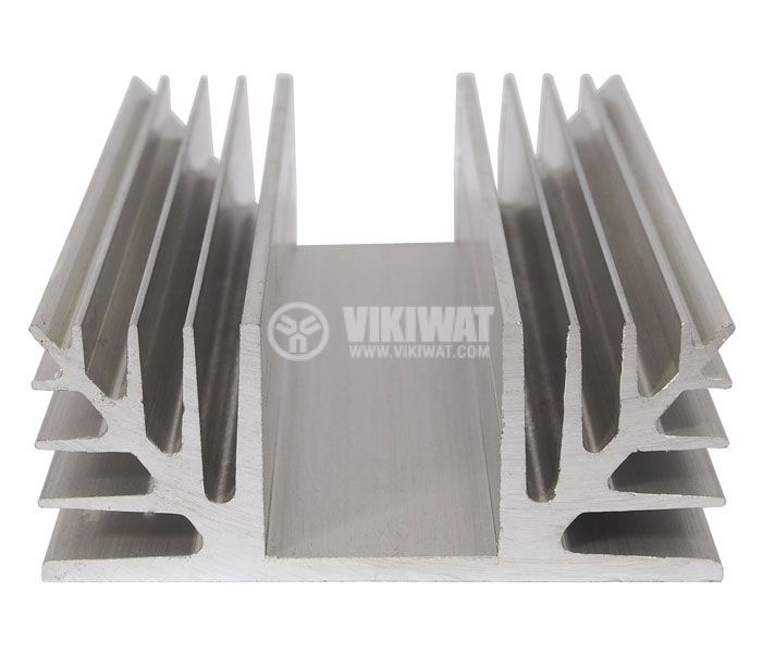 Aluminum cooling radiator profile 500mm 88x35 mm - 1