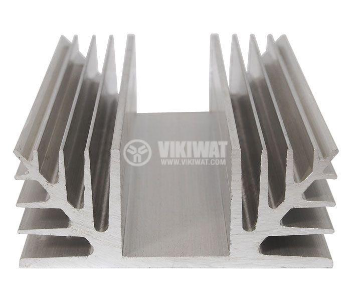 Алуминиев радиатор за охлаждане 250mm, 88x35mm - 1