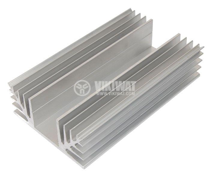 Алуминиев радиатор за охлаждане 250mm, 88x35mm - 2