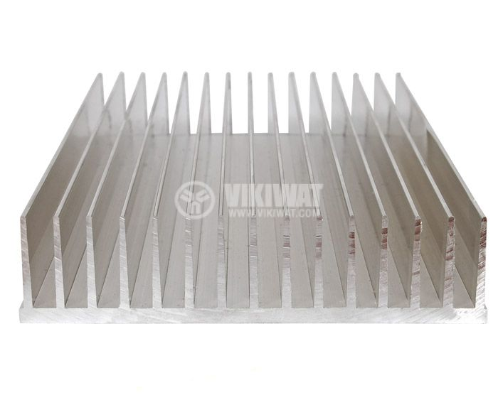 Алуминиев радиатор за охлаждане 500mm, 145x35mm - 1