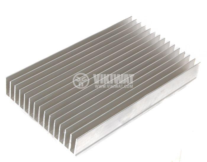 Алуминиев радиатор за охлаждане 500mm, 145x35mm - 2