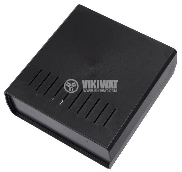 Кутия Z-1W от полистирен, черна 200x191x70 - 2