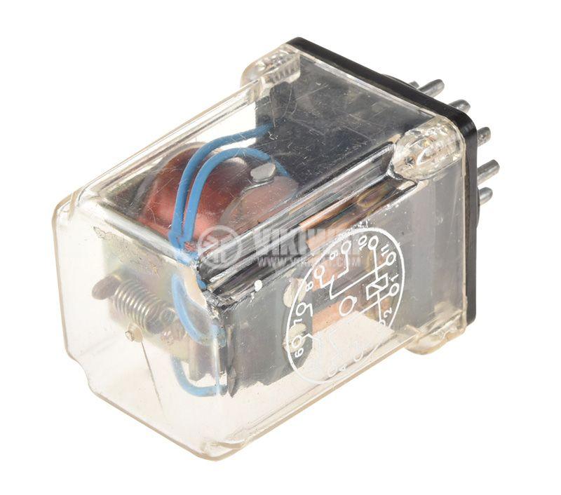 Реле електромагнитно PM305, бобина 220VAC, 220VAC/4A, 3PDT 3NO+3NC - 2