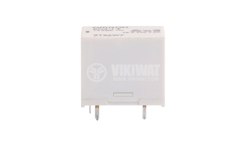 Electromagnetic relay G5LE-1-E-12, coil 12VDC, 250 VAC/16A, 1NO + 1NC (SPDT)