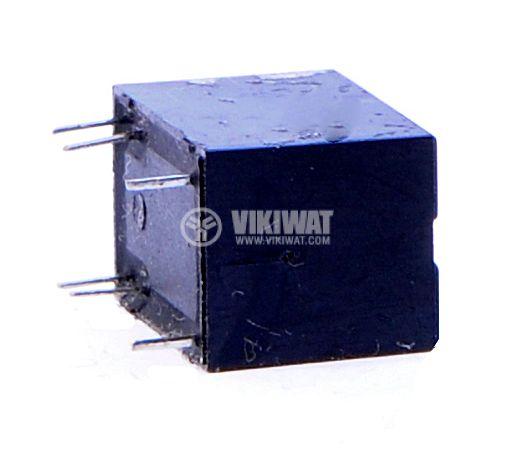Реле електромагнитно, JRC-21F, 12VDC 250VAC/0.5A SPDT - NO+NC - 4