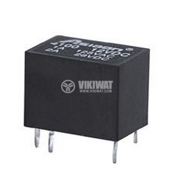Реле електромагнитно JRC-21F 24VDC 250VAC/0.5A SPDT - NO+NC - 1