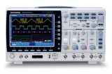 Digital Oscilloscope  GDS-2074A, 70 MHz, 2 GSa/s real time, 4 channel