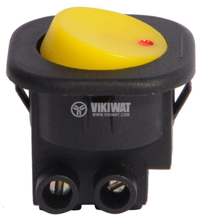 Клавишен превключвател, T120, 6A/250VAC, SPST