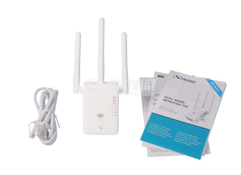 Universal Range Extender, Router, Hot Point 750 Mbps Wi-Fi, Strong - 9