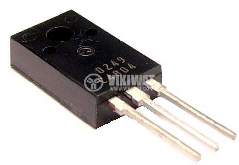 Транзистор 2SC4804, NPN, 600 V, 3 A, 20 MHz, 30 W, ITO-220