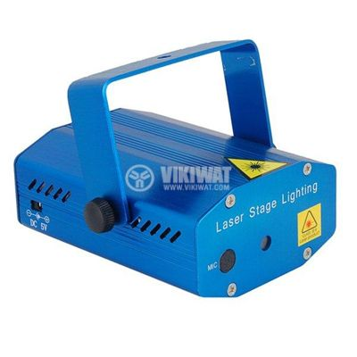 Лазер за сцена с ефекти YX-6E - 2