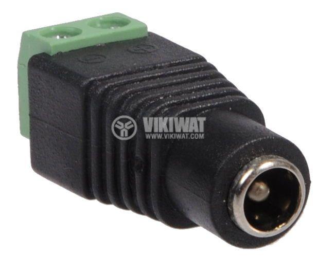 LED strip plug power connector 5.5x2.5mm - 2