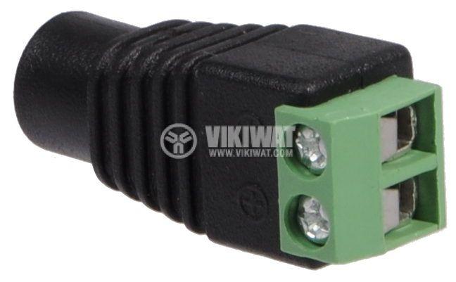 LED strip plug power connector 5.5x2.5mm - 3