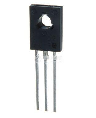 Транзистор BD676, PNP, 45 V, 4 A, 40 W, 1 MHz, TO126, дарлингтон