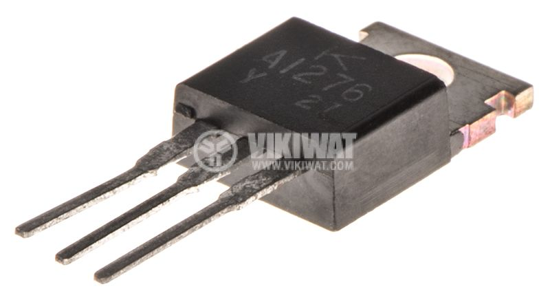 Транзистор 2SD1276A, NPN, 80 V, 3 A, 40 W, 20 MHz, TO220F - 2