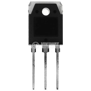 Transistor 2SD1556, NPN, 1500 V, 6 A, 50 W, 3 MHz, TO3P