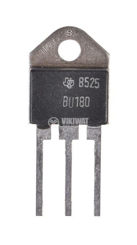 Транзистор BU180, NPN, 320 V, 10 A, 50 W, TO3PN дарлингтон - 2